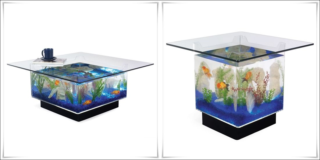 Fish Tank Tables...They Hold Alive Tranquility! | Home Decor that I ...
