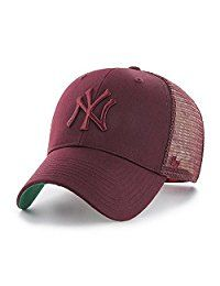 8159cd893 47 Brand MLB NY Yankees Branson MVP Cap - Dark Maroon | CAPS in 2019 ...