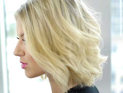 10 Kurze Haarschnitte Für Dünnes Welliges Haar Kurze Frisuren