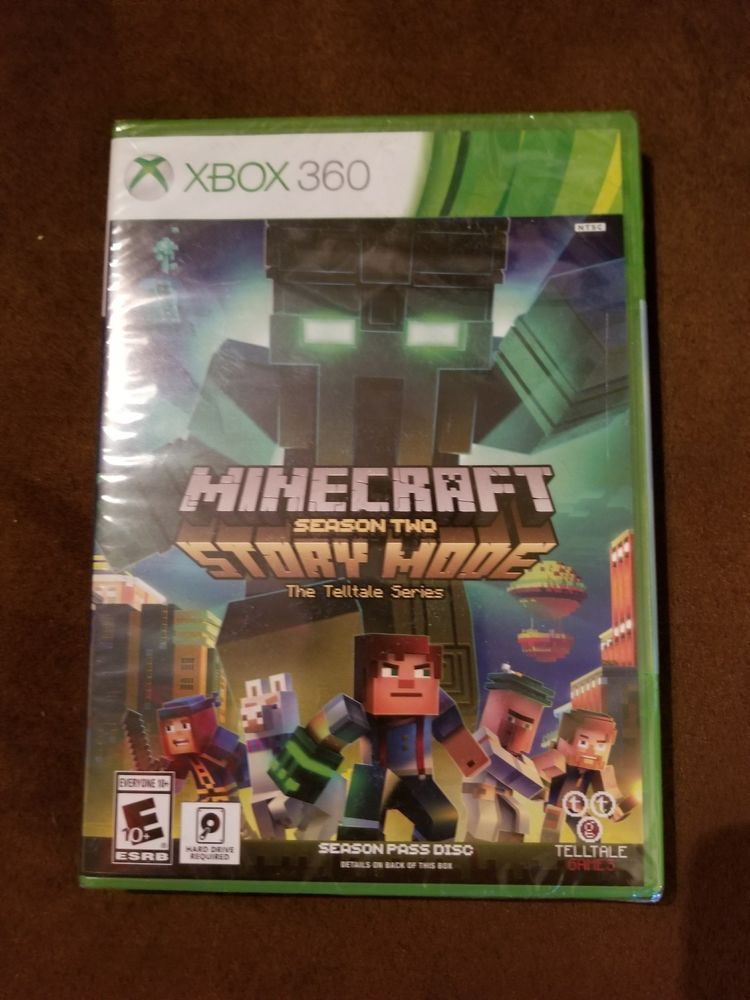 Minecraft Story Mode Season 2 Xbox 360 The Telltale Series Season