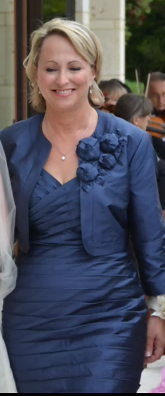 Ann's mother of the bride dress