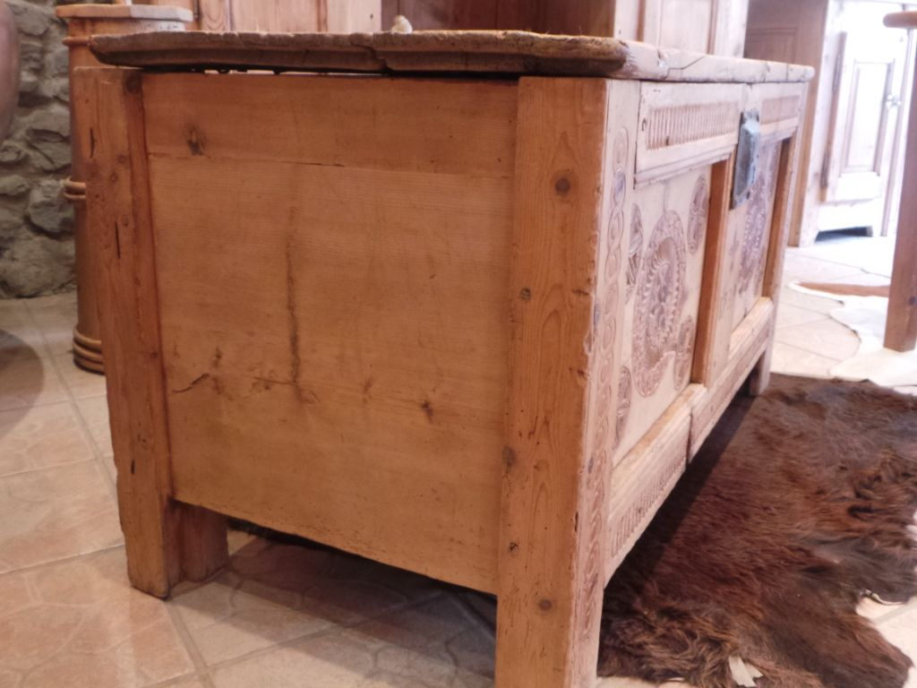 Meuble Ancien Queyras Art Populaire Alpin Mobilier De Salon Queyras Meubles Anciens