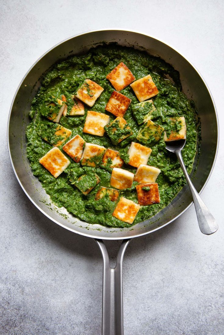 Easy Palak Paneer Recipe Easy Palak Paneer Recipe  creamy spinach sauce mixed with paneer Indian cottage cheese