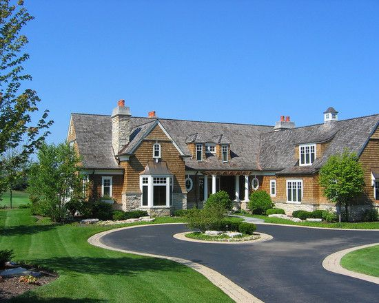 Architecture Epic House Driveway Designs Using Paved Style ...