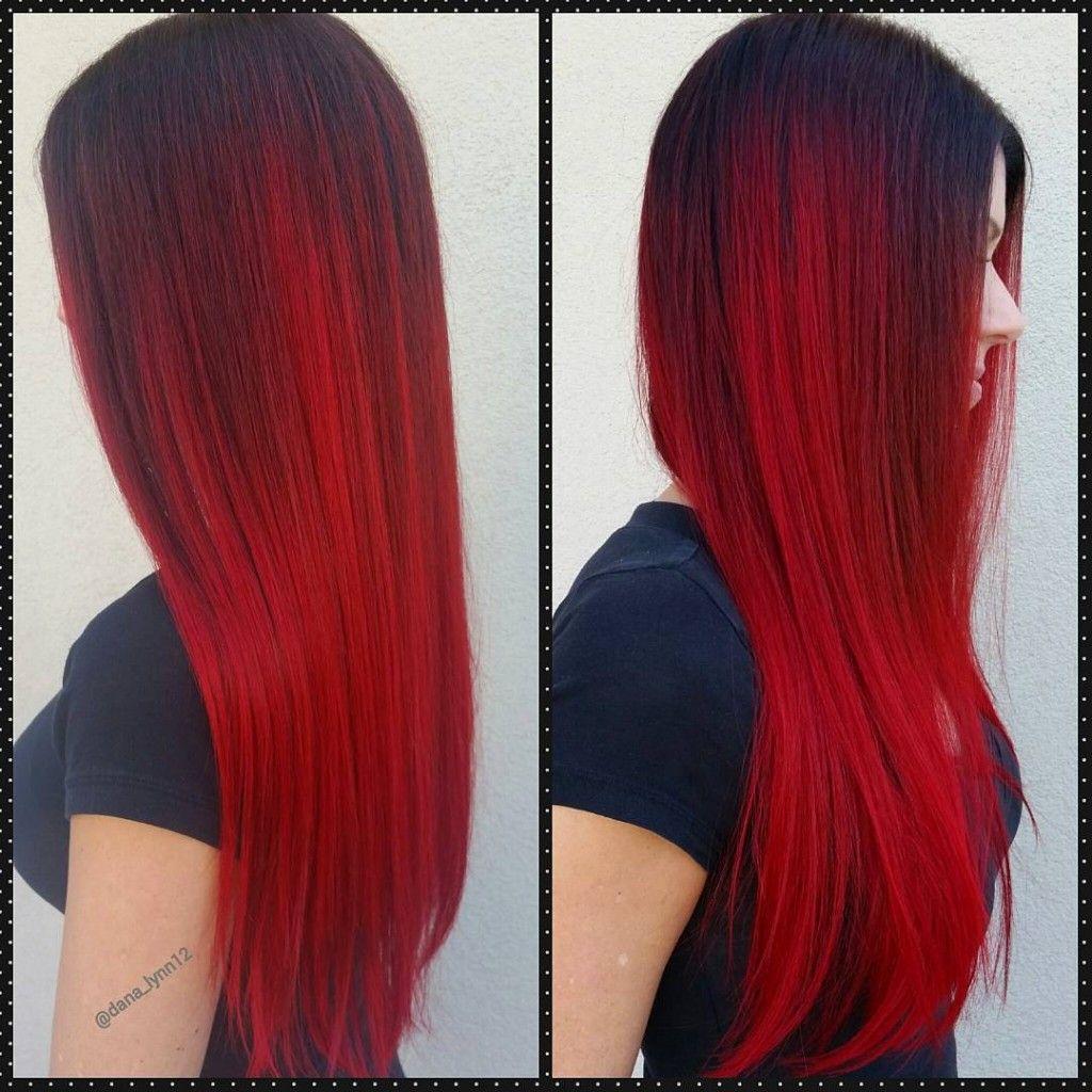 red violet shadowroot ombre hair arc en ciel pinterest cheveux coiffure et couleur cheveux. Black Bedroom Furniture Sets. Home Design Ideas