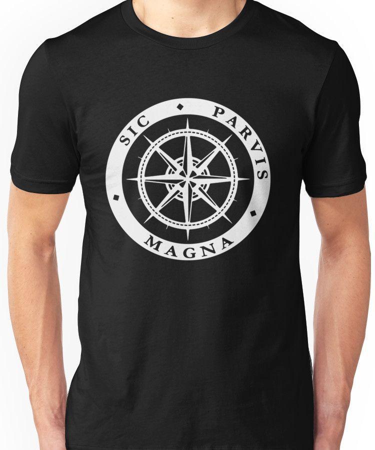 Sic Parvis Magna Unisex T-Shirt