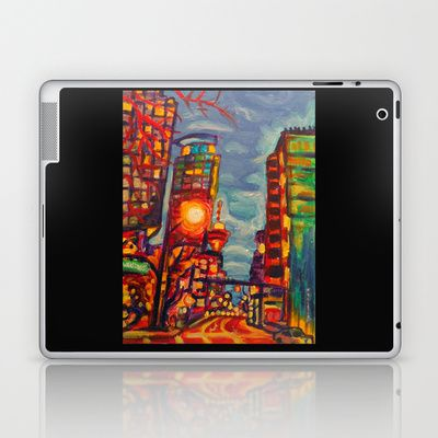 Harbour West Laptop & iPad Skin by Morgan Ralston - $25.00