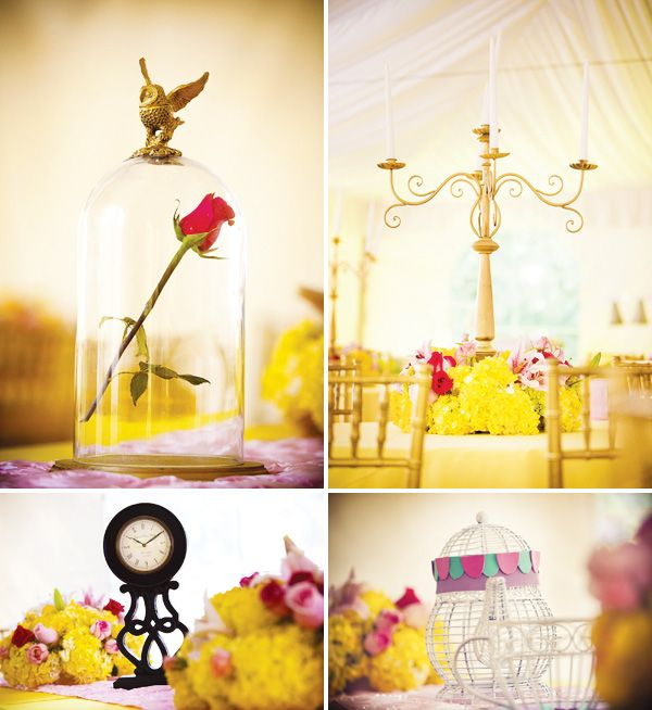 Great Beauty And The Beast Theme Princess Party {Part 2} // Hostess .