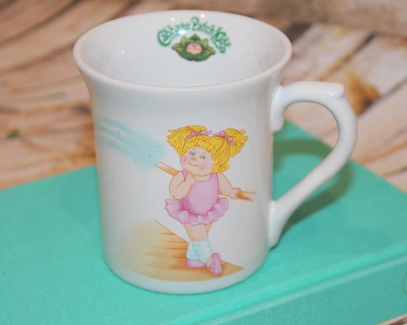 Vintage 80s Prop Cabbage Patch Kids Cpk Coffee Cup Mug Etsy Cabbage Patch Kids Mugs Cabbage Patch