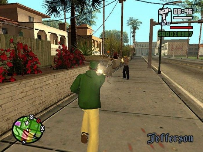 Grand Theft Auto San Andreas gameplay screenshot | Action