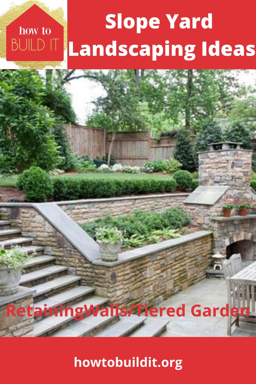 Slope Yard Landscaping Ideas- Backyard, Landscape, and ...