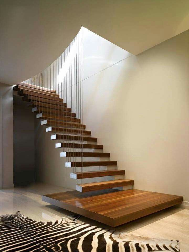 Loving This Simple And Stylish Staircase Escaleras