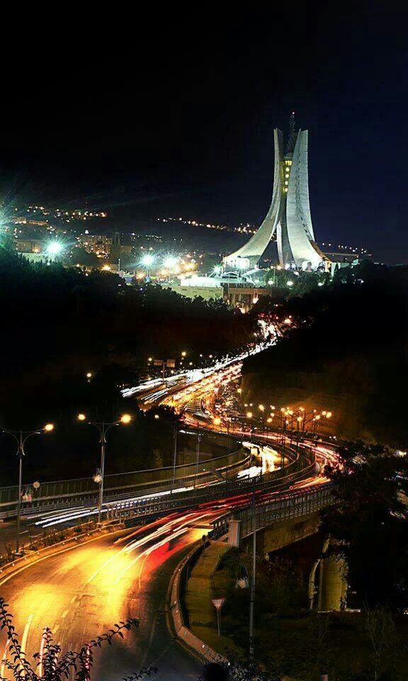 Algiers by night