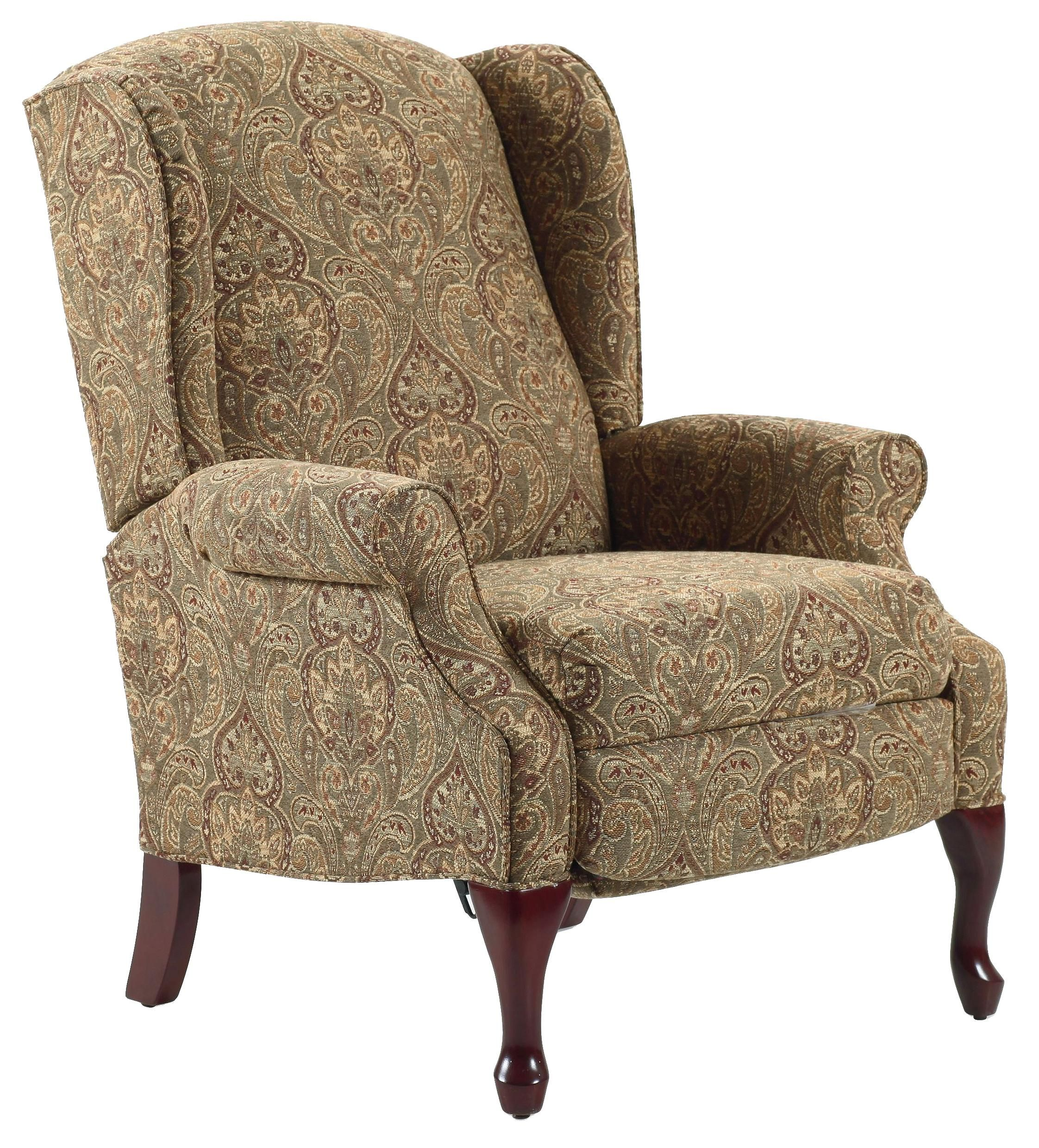 Recliners Hampton Traditional High Leg Recliner In Wing Chair Style By Lane Riverview Galleries Furniture Nc