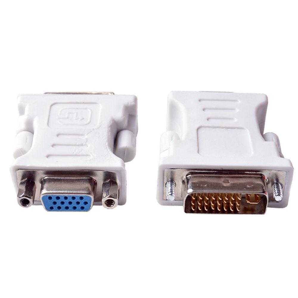 1pcs dvi to vga adapter converter dvi 24 5 pin male to vga female 1080p [ 1000 x 1000 Pixel ]