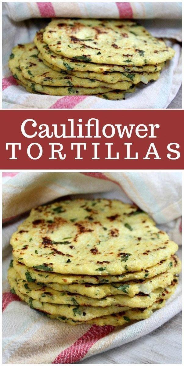 Cauliflower Tortillas recipe from