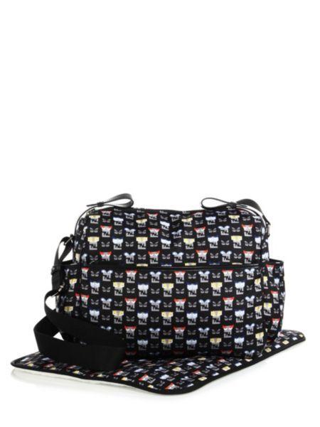 Fendi - Monster-Print Diaper Bag  7e6bfa84d8524