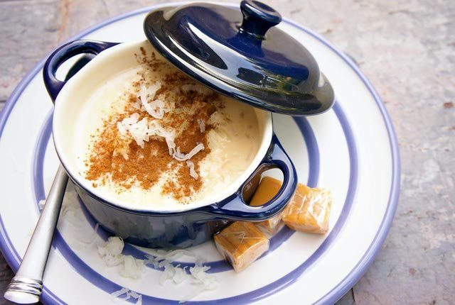 Spanish rice pudding is called arroz con leche, is flavored with lemon and cinnamon and is enjoyed hot or cold. Try our Spanish rice pudding recipe!