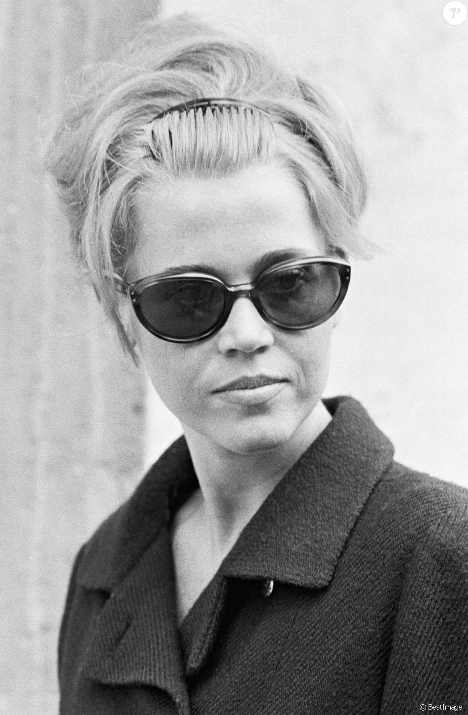 Jane Fonda à Paris 1967.