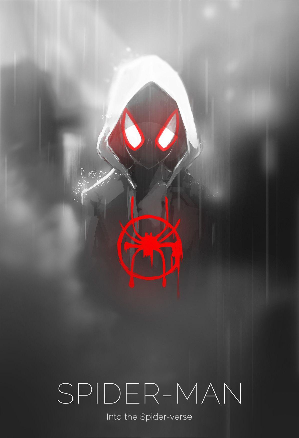 Artstation Spider Man Into The Spider Verse Dimas Yudhystira