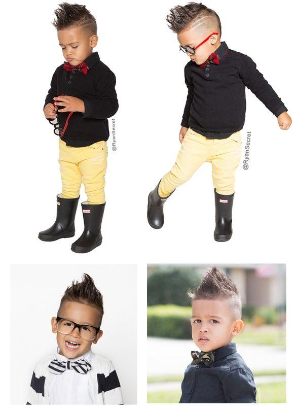 Astonishing Undercut For Boy Undercut Para Meninos Kids Hairstylist Corte Hairstyles For Men Maxibearus