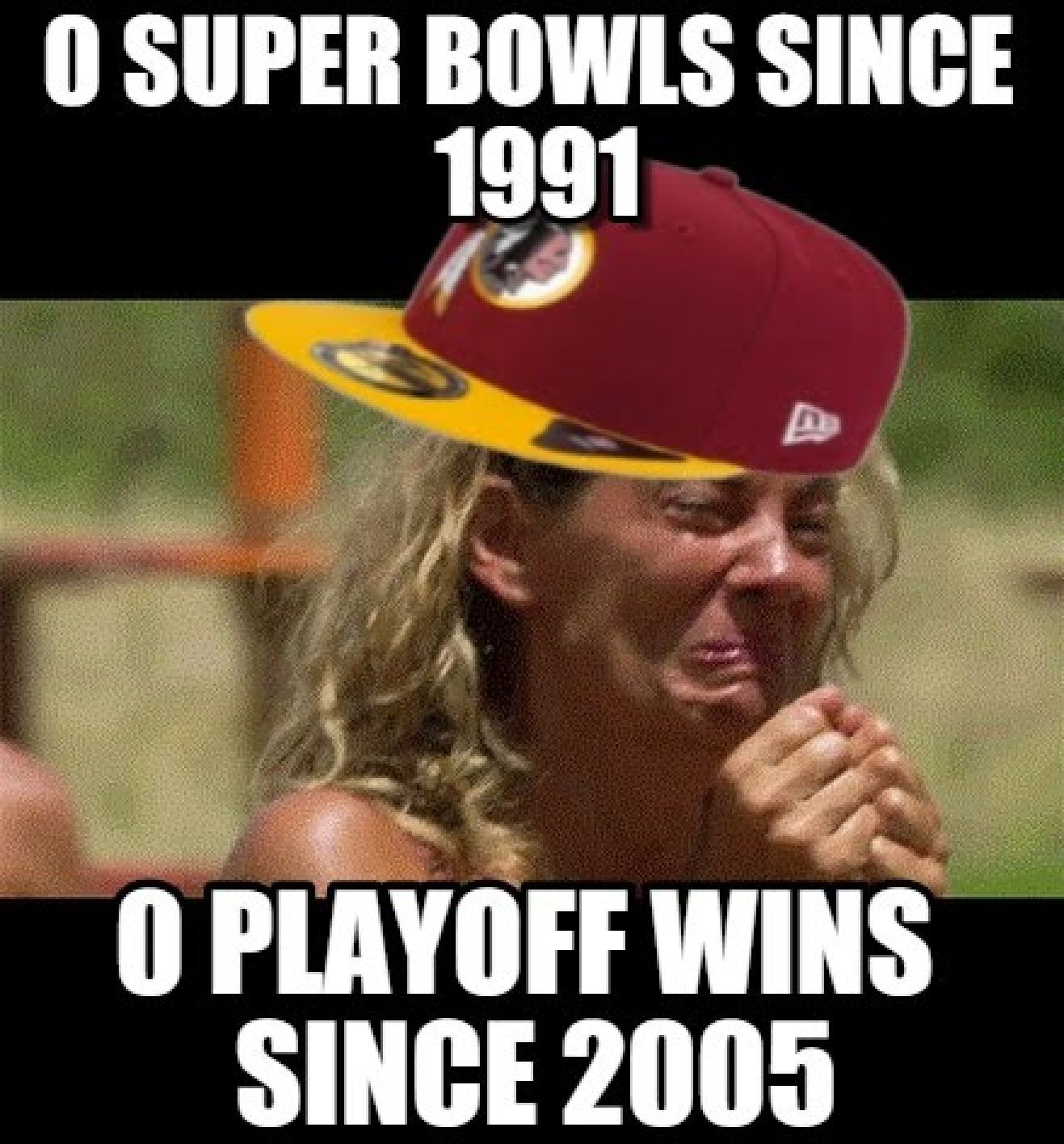 The washingtone redskins suck