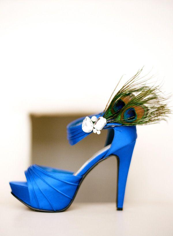 Rustic Modern Intimate Winter Wedding Ideas Peacock Shoes Wedding Shoe Peacock Wedding Theme