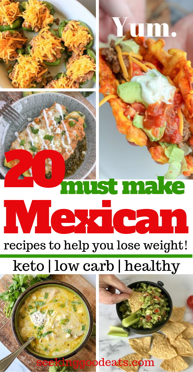 Photo of 20 Keto Mexican Recipes That Will Help You Lose Weight
