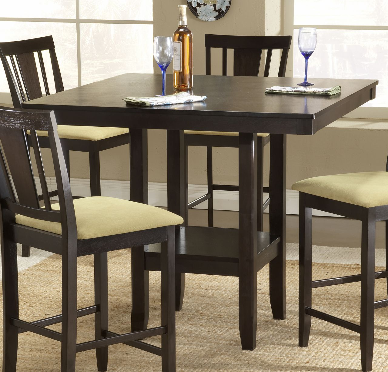 Folding dining table and chair set  High top Dining Table  Custom Home Office Furniture Check more at