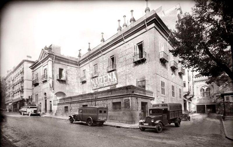 Casa De Las Siete Chimeneas Fotos Antiguas Madrid Fotos Antiguas Foto Madrid