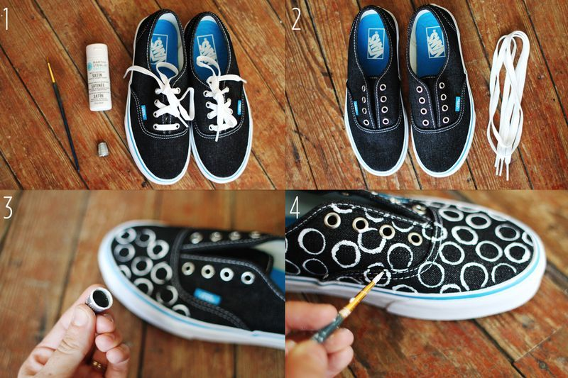 DIY Projects for Girls | PS. Check back late this afternoon for Emma's Vans Makeover... her ...