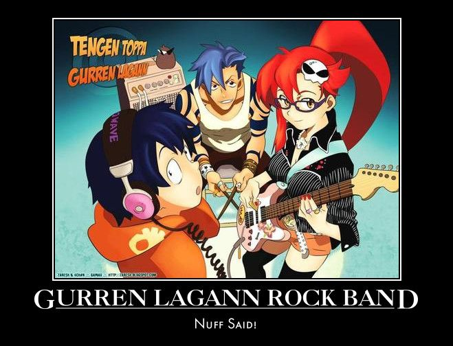 Gurren Lagann Rock Band