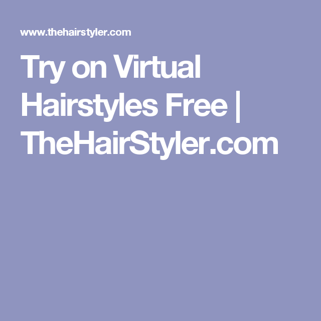Thehairstyler Com Virtual Hairstyler Free Alluring Hairstyles Haircuts And Hair Colors