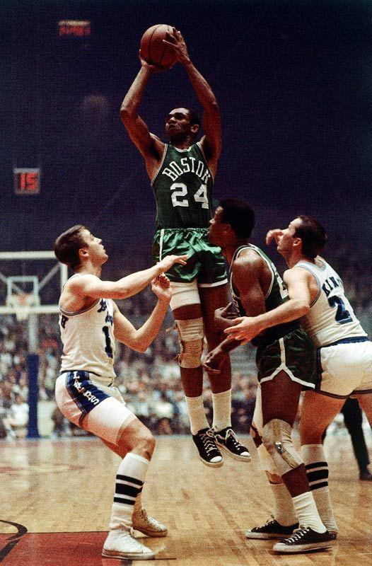 low priced 297cf c4bc3 Sam Jones | NBA HALL OF FAME | Celtics basketball, Nba, Nba ...