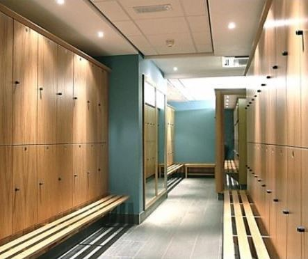 Changing & Locker Room | MH GYM | Pinterest | Lockers, Room and Gym
