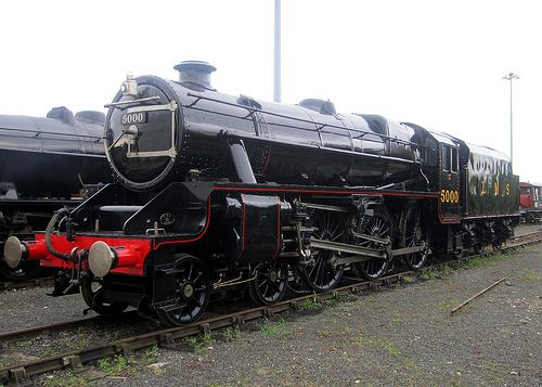 Lms Stanier Class 5 4 6 0 5000 Steam Trains Uk Steam Trains