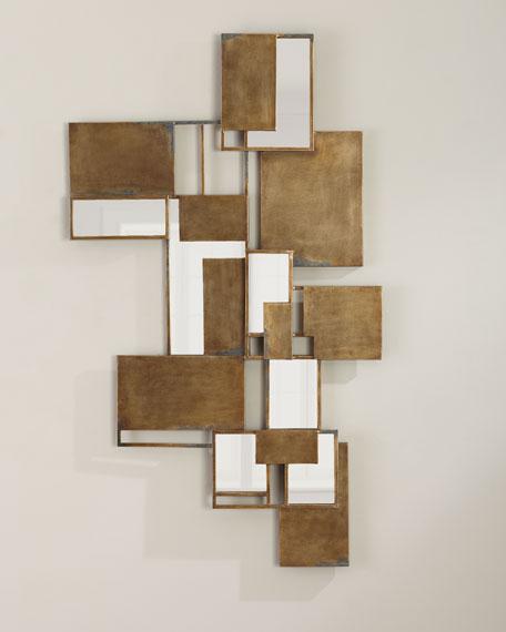 Jamie Young Optical Wall Art Mirror Mirror Wall Art Wall Art Living Room Home Decor Wall Art