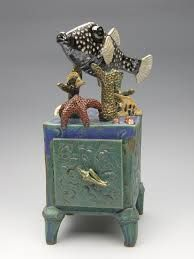 Creative Ceramic Boxes Google Search Hand Built Pottery Ceramic Boxes Clay Box