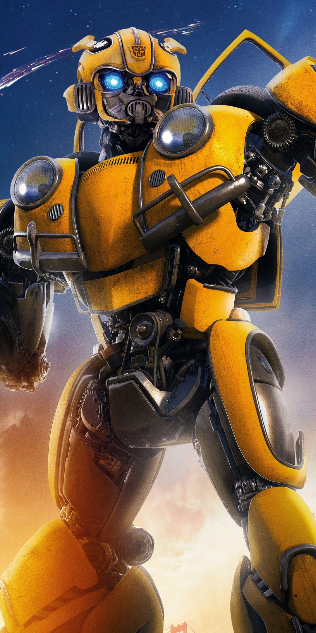 Robot Movie Transformers Bumblebee 1080x2160 Wallpaper Transformers Bumblebee Transformers Artwork Transformers Movie