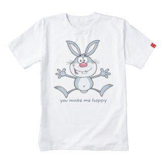 You Make Me Hoppy Bunny Rabbit Zazzle HEART T-Shirt