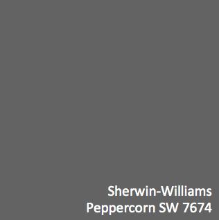 die besten 25 peppercorn sherwin williams ideen auf pinterest dunkel gestrichene w nde. Black Bedroom Furniture Sets. Home Design Ideas