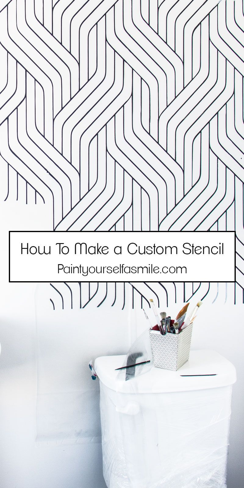 How to make a stencil: instructions and tips
