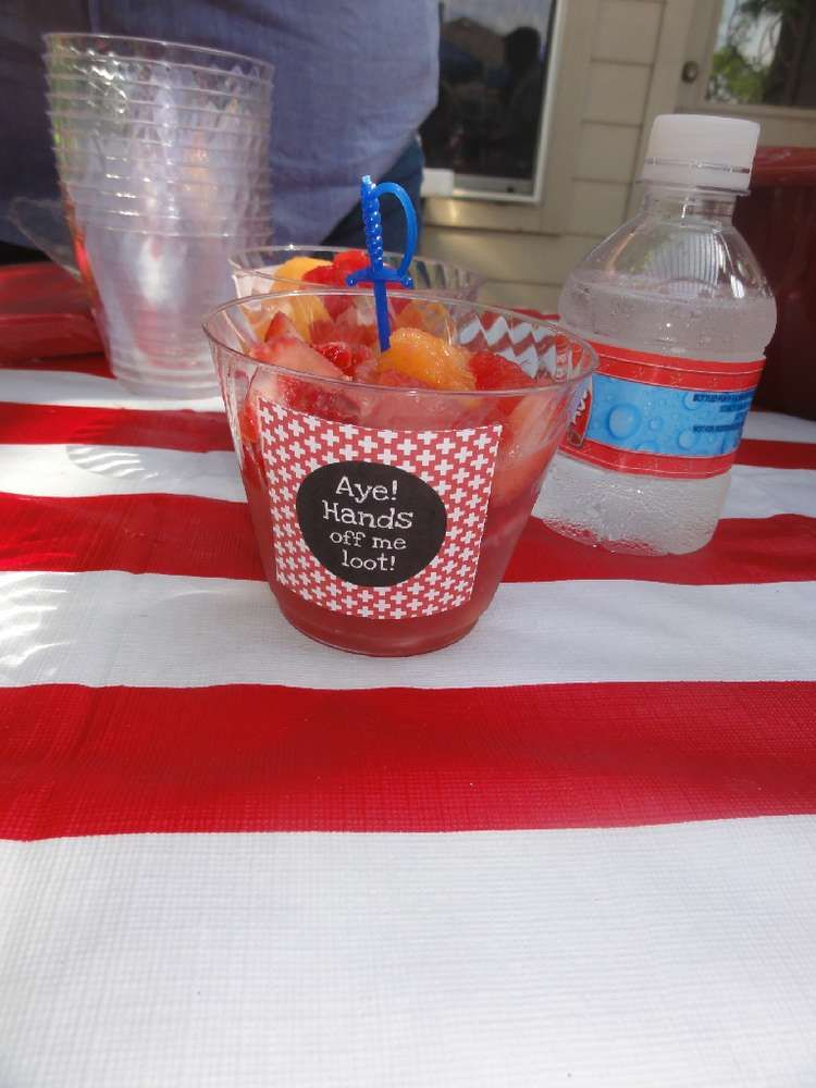 Pirates Birthday Party Ideas | Photo 1 of 32 | Catch My Party