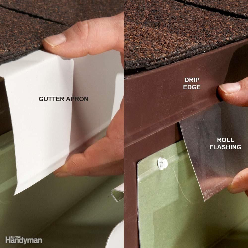 Easy Gutter Fixes Sheet Metal Apron And Water