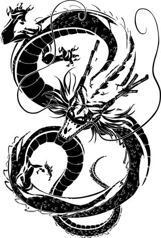 Dragonball Z Shenron Back Tattoo Dragon Ball Artwork Dragon Ball Wallpapers Dragon Ball Tattoo