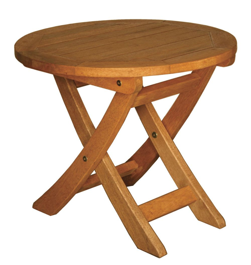 Terrace Mates Aspen Round Folding Side Table Products Pinterest