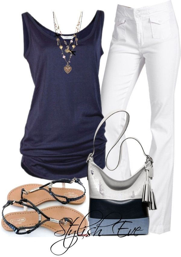 NADA by stylisheve on Polyvore    I want the necklace.