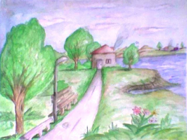 رسومات بالألوان المائية على الطبيعة Yahoo Image Search Results Painting Art