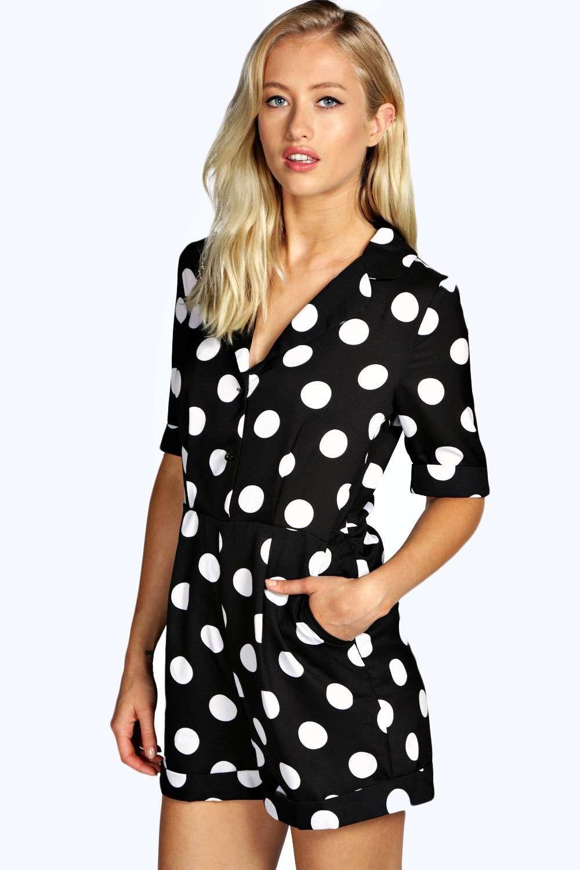 797c08d1dd Georgia Spot Print Pyjama Style Playsuit alternative image