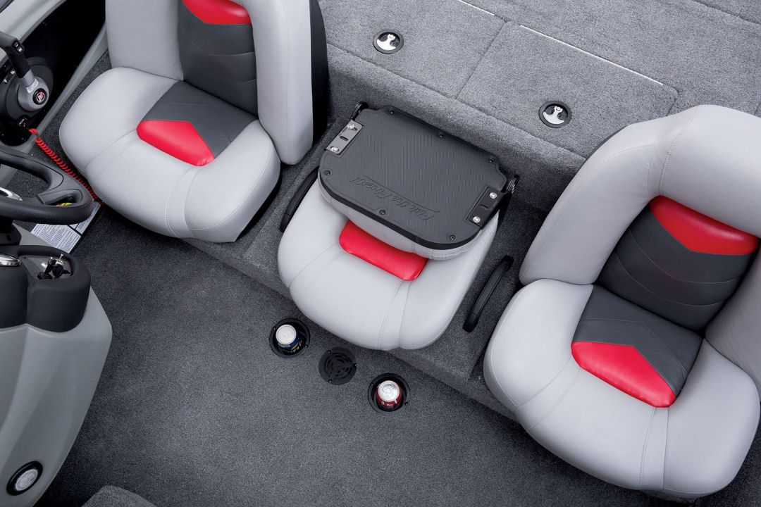 Tracker Pro Team 195 Txw The Cup Holders Forward Of The